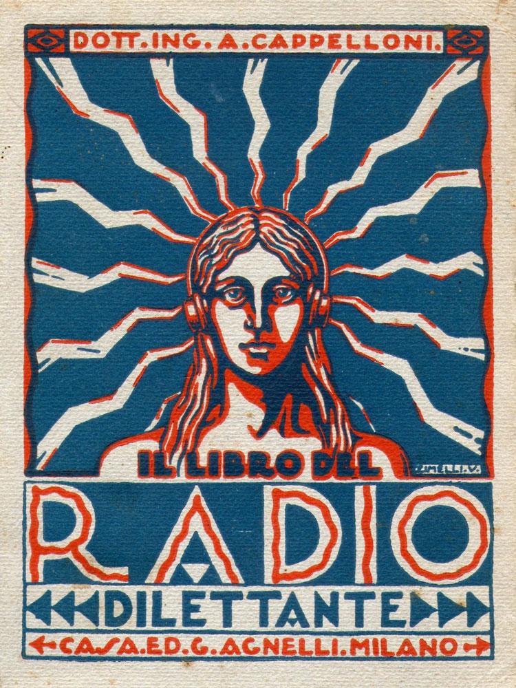 """Copertina del libro """"Il radio dilettante"""""""