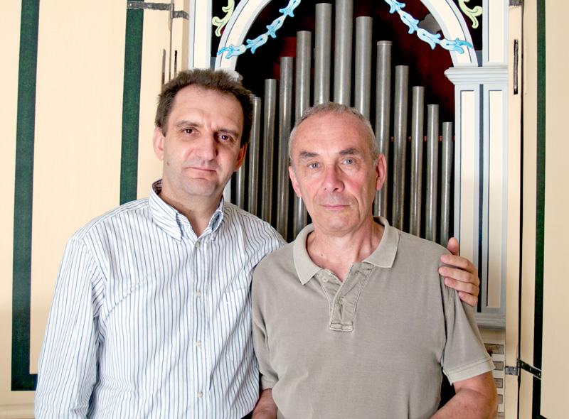 Serafino Corno e Walter Ferrario