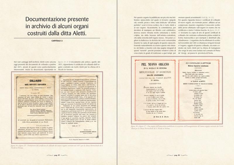 CAPITOLO 3 - Documentazione presente in archivio di alcuni organi costruiti dalla ditta Aletti