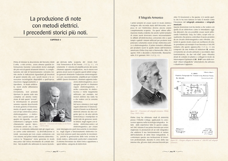 CAPITOLO 4 - La produzione di note con metodi elettrici. I precedenti storici più noti
