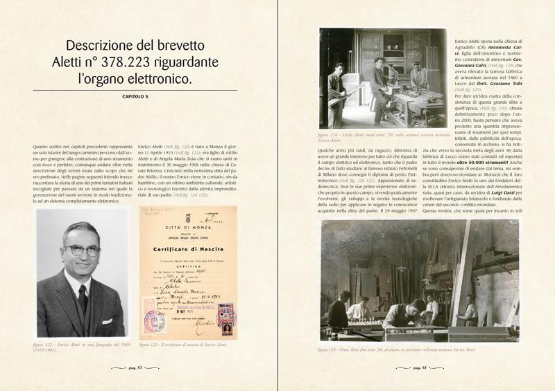 CAPITOLO 5 - Descrizione del brevetto Aletti n° 378.223 riguardante l'organo elettronico