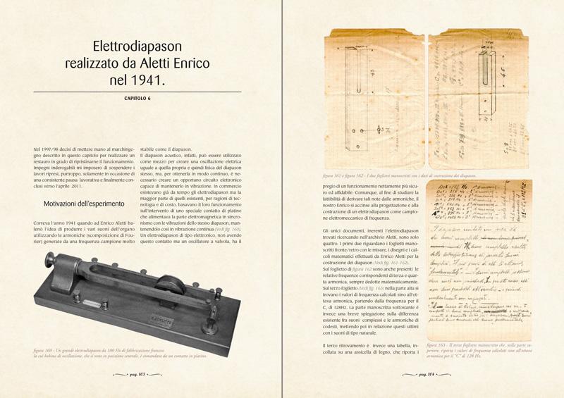CAPITOLO 6 - Elettrodiapason realizzato da Aletti Enrico nel 1941