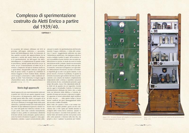 CAPITOLO 7 - Complesso di sperimentazione costruito da Aletti Enrico a partire dal 1939/40