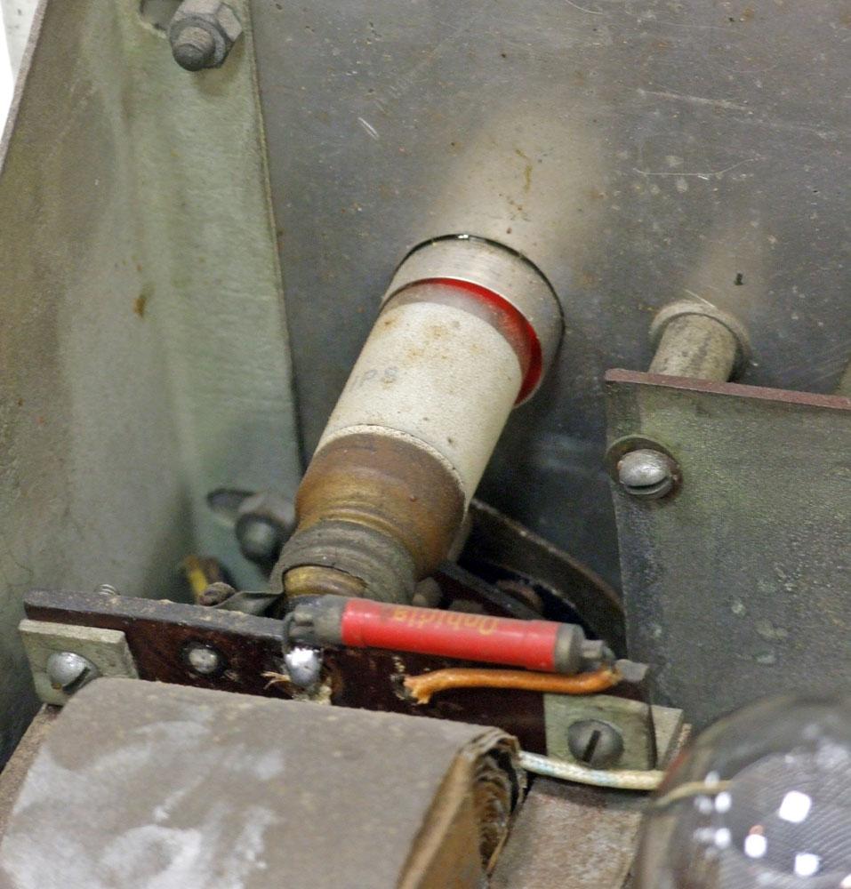 Generatore di frequenza O.H.M. mod. 1271 - lampadina al neon