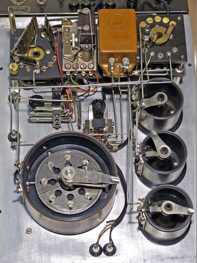Ponte di misura R.C.L. General Radio mod. 650-A - potenziometri di regolazione