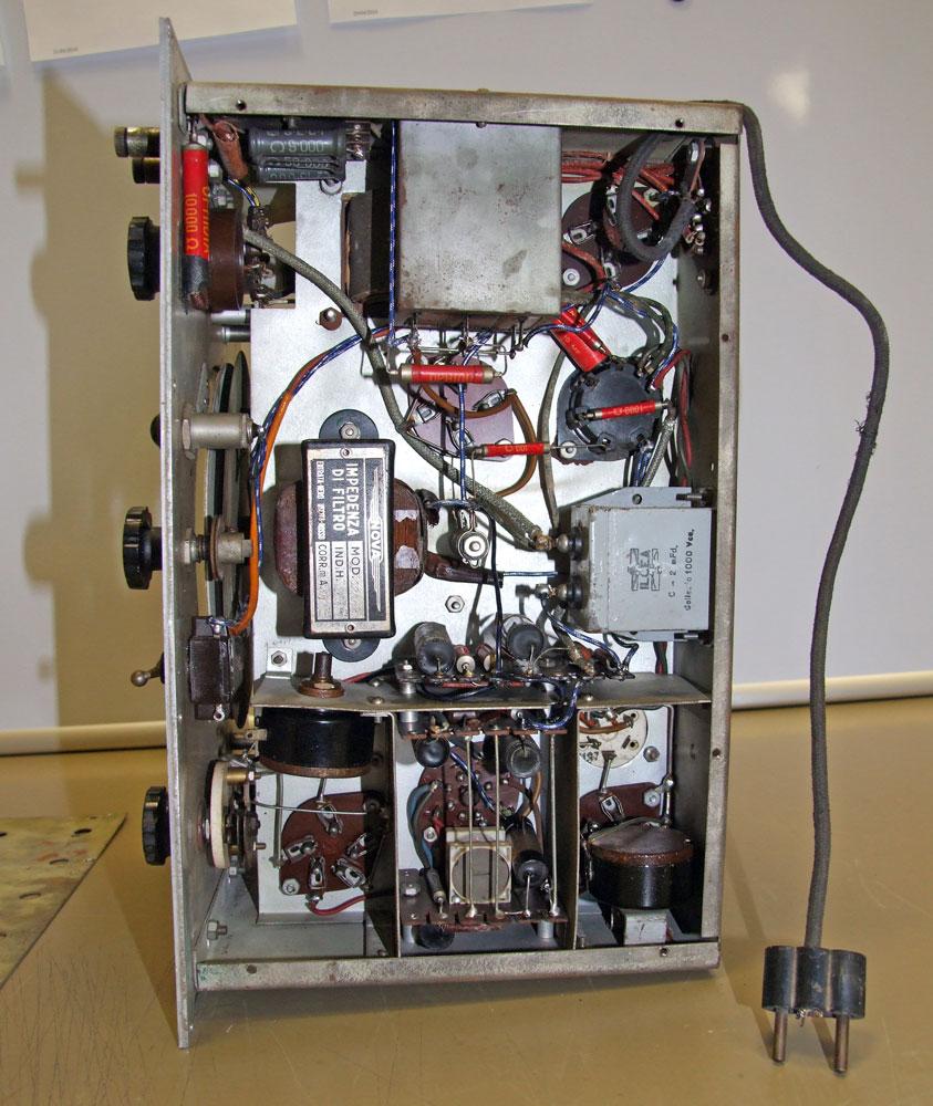 Generatore di frequenza O.H.M. mod. 1271 - telaio senza schermatura