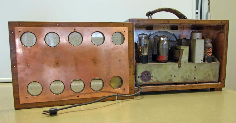 Generatore di frequenza O.H.M. mod. 1271 - schermatura in rame