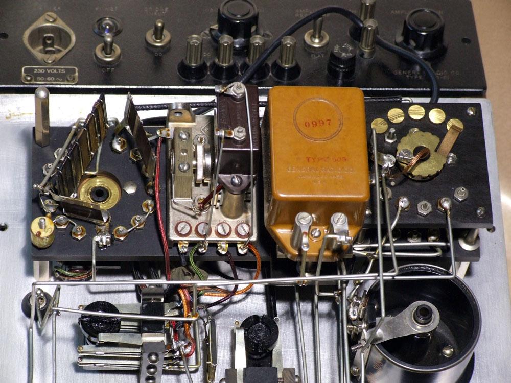 Ponte di misura R.C.L. General Radio mod. 650-A - commutatori di portata