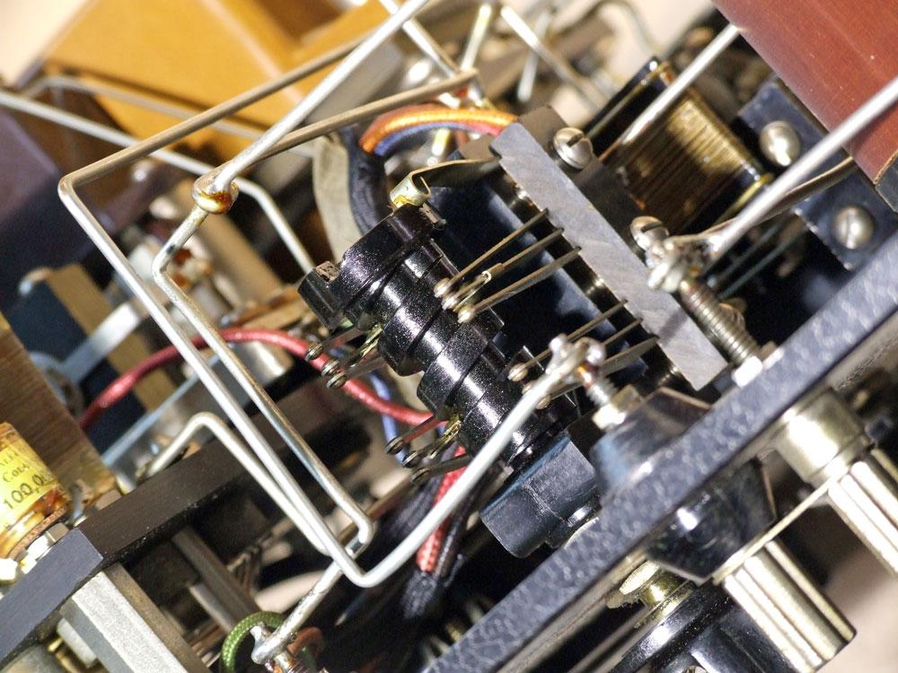 Ponte di misura R.C.L. General Radio mod. 650-A - vista del commutatore