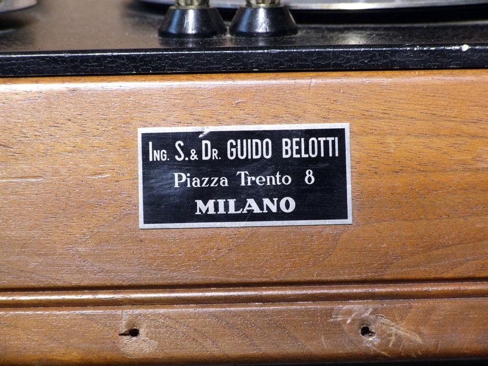 Ponte di misura R.C.L. General Radio mod. 650-A - targhetta metallica