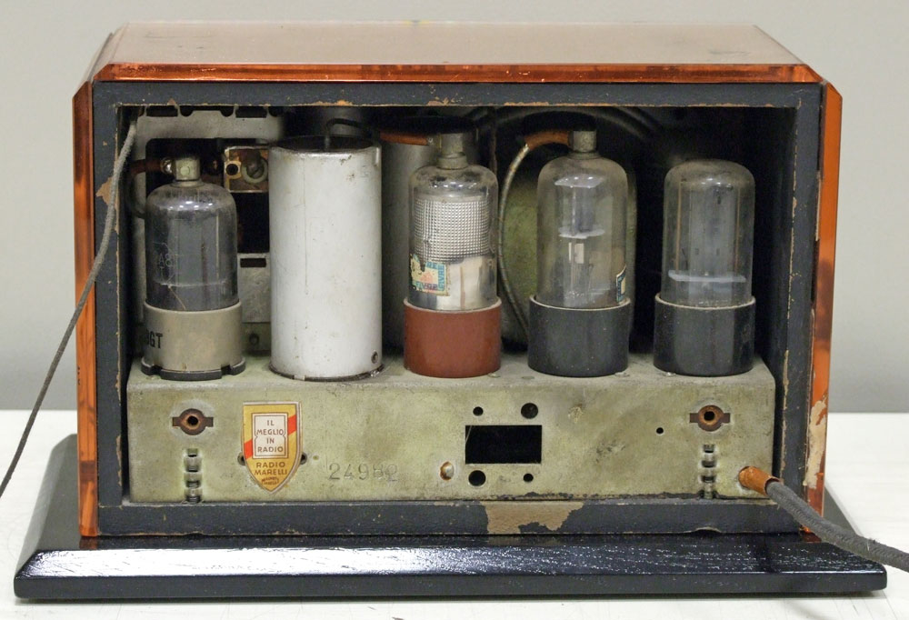RadioMarelli Fido, vista posteriore