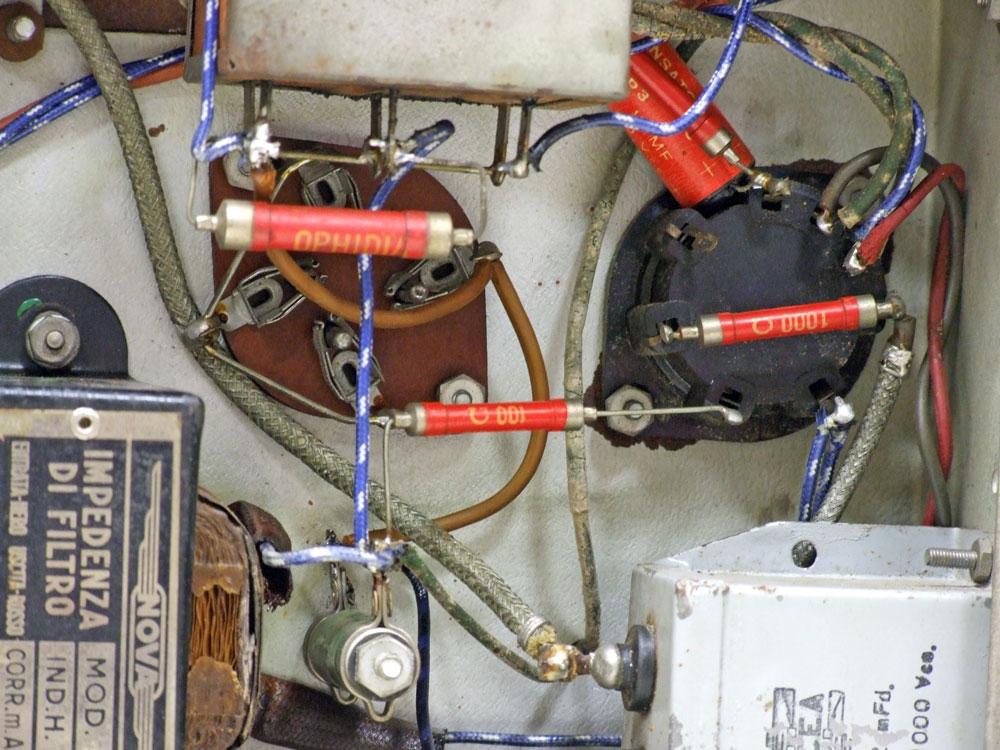 Generatore di frequenza O.H.M. mod. 1271 - cablaggi rifatti