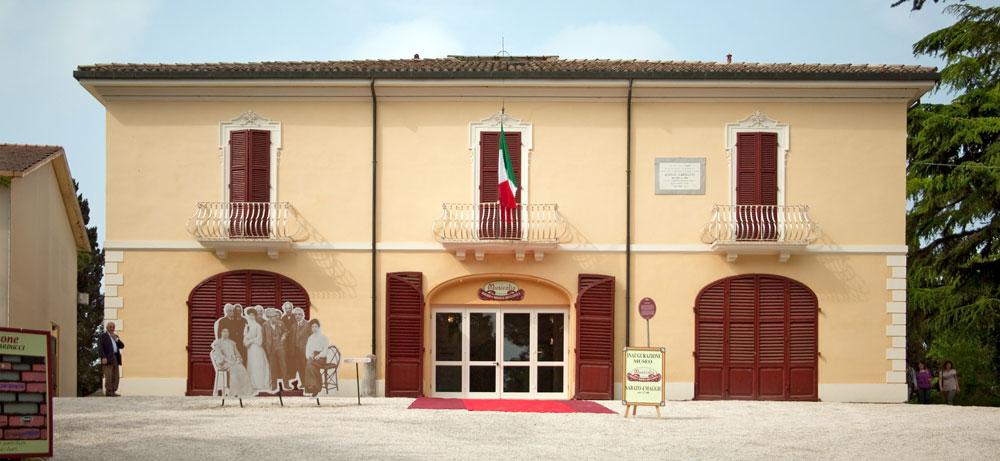 -fig.1 Il complesso museale di Villa Silvia.