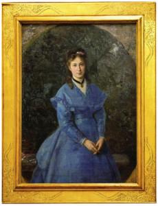 -fig.8 Fotografia con il ritratto della giovane contessa Silvia Baroni.