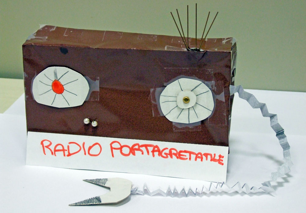 radio portagretatile