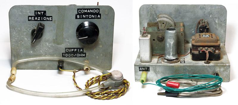 La mia prima radio a valvole auto-costruita.