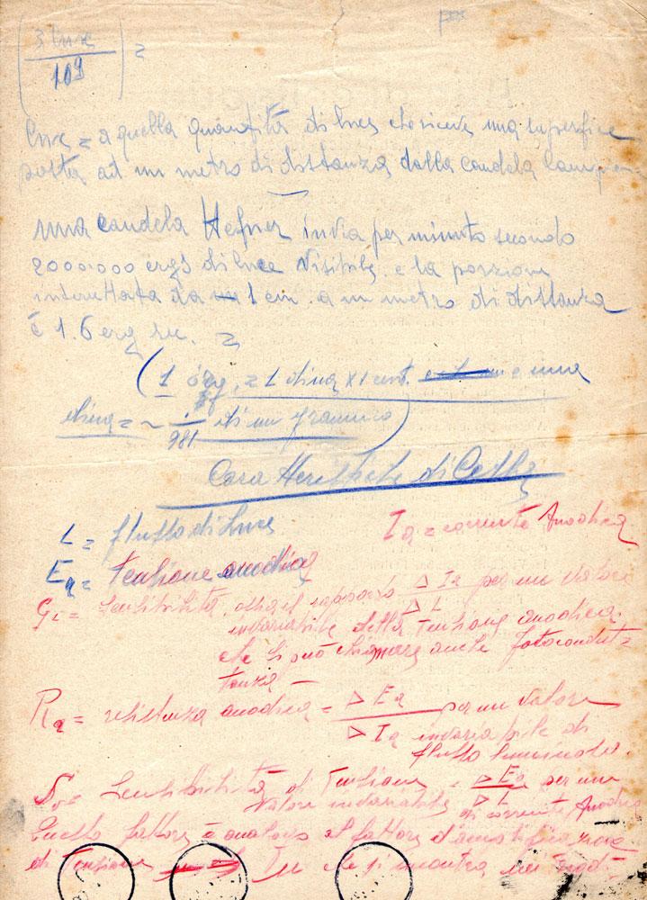 Fig.3-certificato di collaudo manoscritto