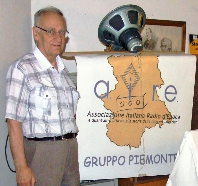 Fig.1 Andrea Ferrero: capogruppo AIRE della regione Piemonte-Valle d'Aosta.