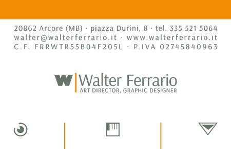 Walter Ferrario, realizzazione del servizio fotografico