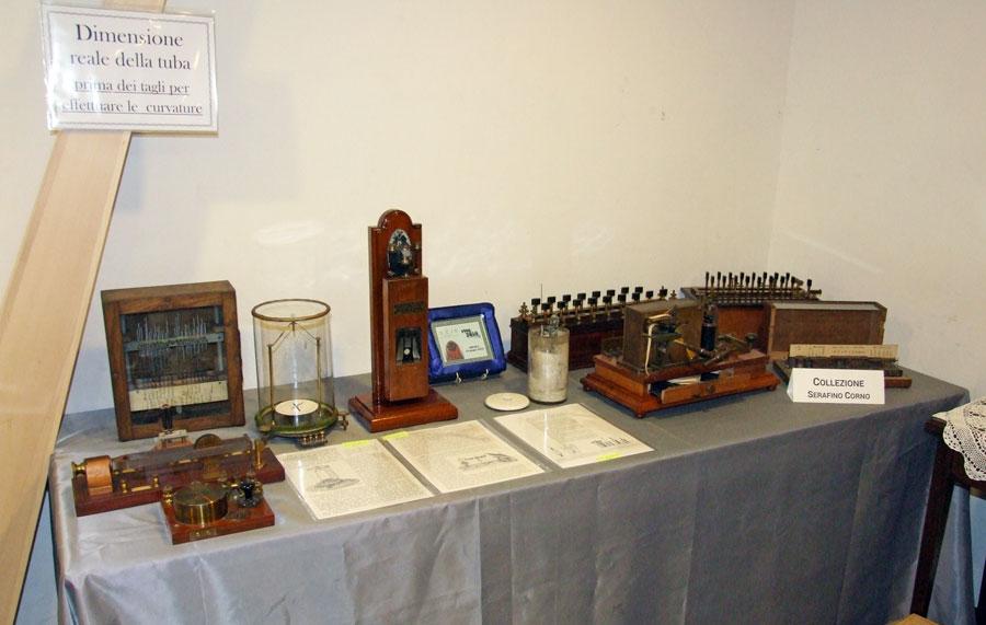 Figura 6 - Fotografia con la disposizione dei soli apparecchi elettrici.