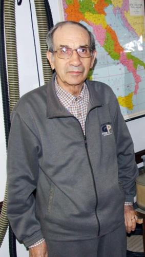 Figura 1. Foto del radiotecnico Egidio Calloni