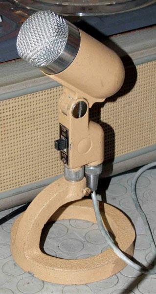 """Figura 4. Il microfono originale """"Riem"""" Cardioide."""