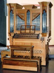 L'organo da studio di Walter Mauri