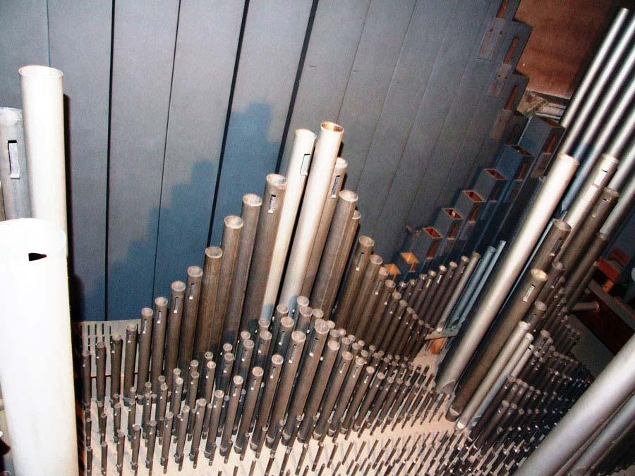 Canne del Grand'Organo della Collegiata di Seregno.