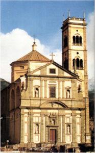 Chiesa Parrocchiale di S. Giuseppe. The parish church of St. Joseph.