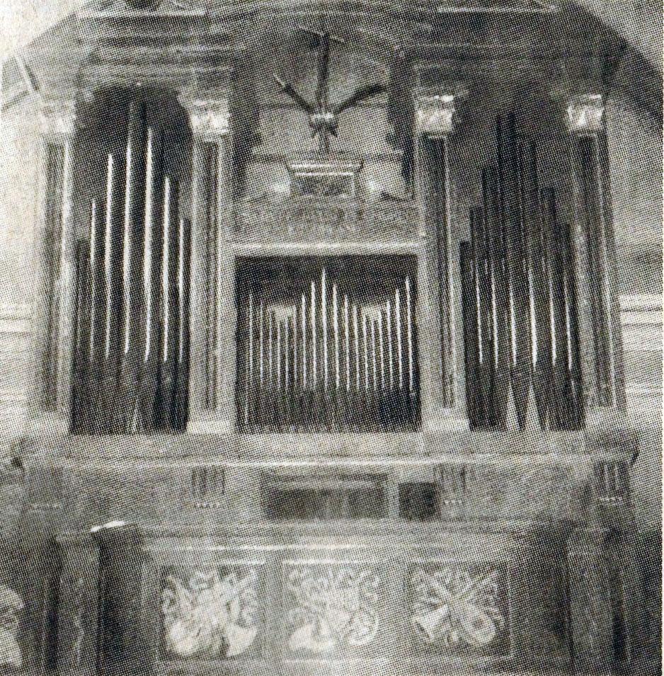 l'organo del Santuario della Beata Vergine del Carmelo