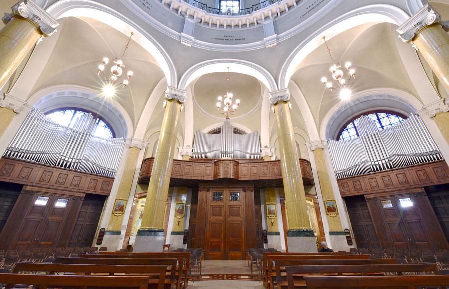Il Grande Organo della Basilica S. Giuseppe a Seregno (foto Francesco Viganò)