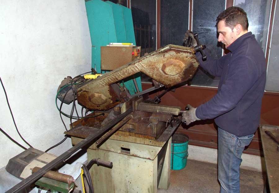realizzazione della meccanica della panca