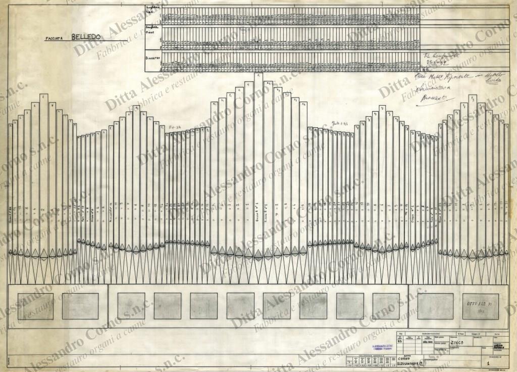 Il primo progetto presentato al Parroco di Belledo (LC)