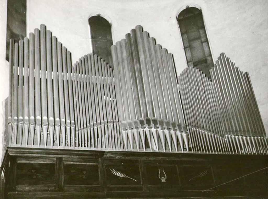 Organo della Chiesa del Convento dei Carmelitani di Monza