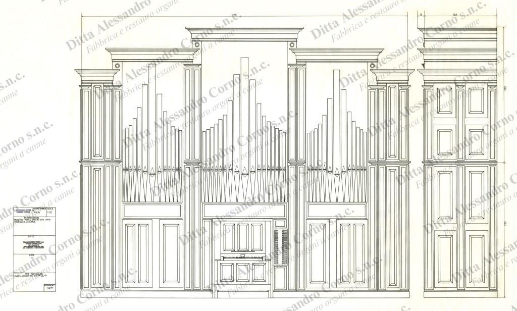 Il progetto della cassa ultimato -Organo di Cornate d'Adda- (MB)