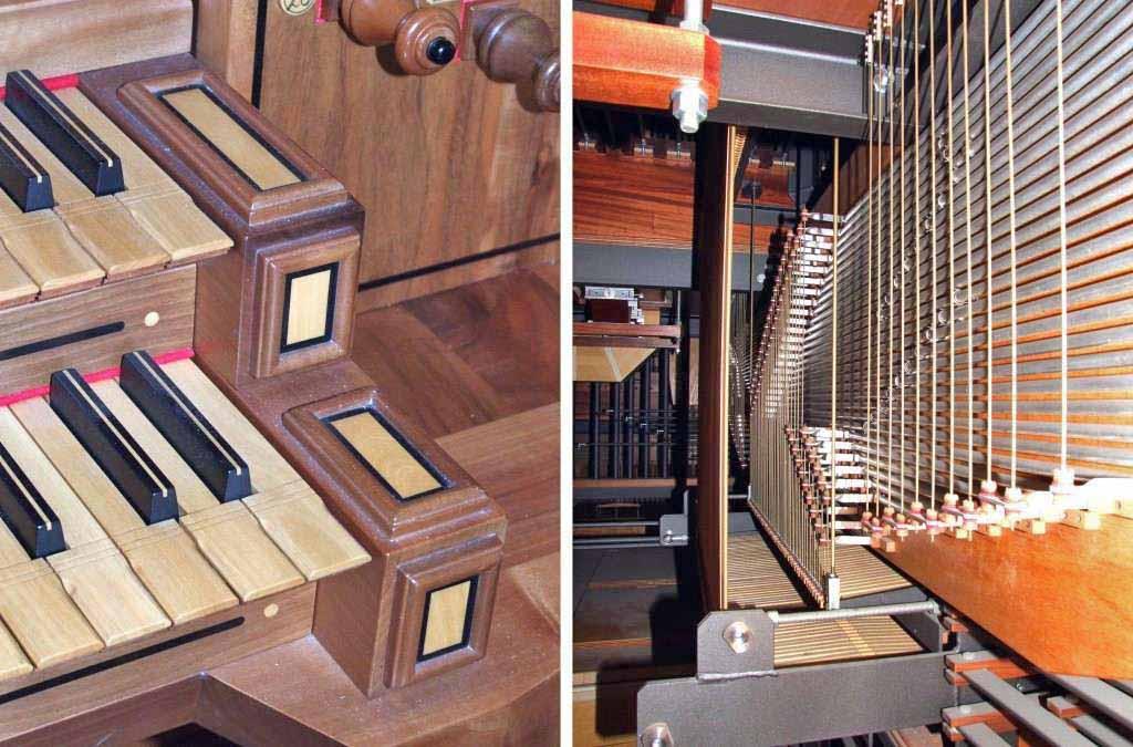 Immagini del nuovo organo della Parrocchia di S. Ambrogio di Merate