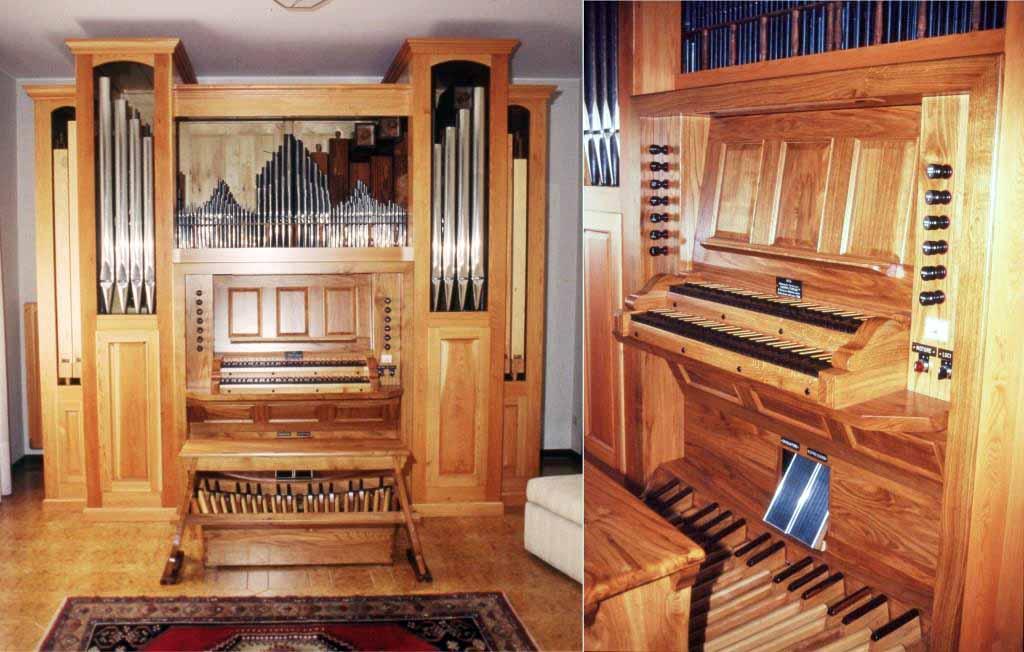 Il nuovo organo del Maestro Sergio Paolini