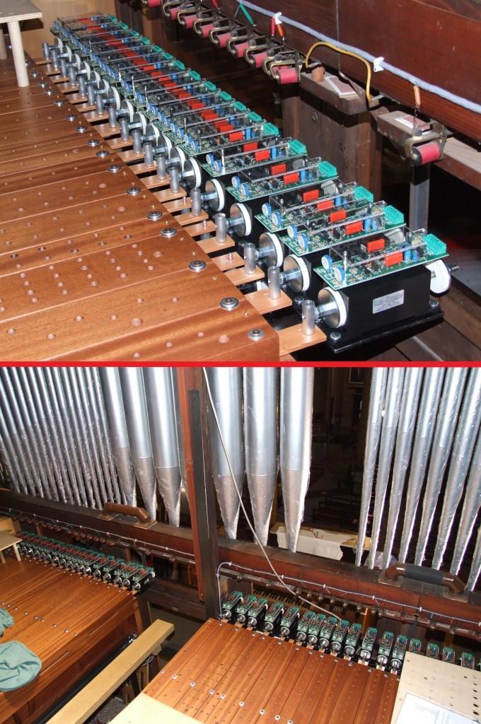 L'applicazione dei solenoidi ai nuovi somieri del Grand'Organo della Basilica di Seregno