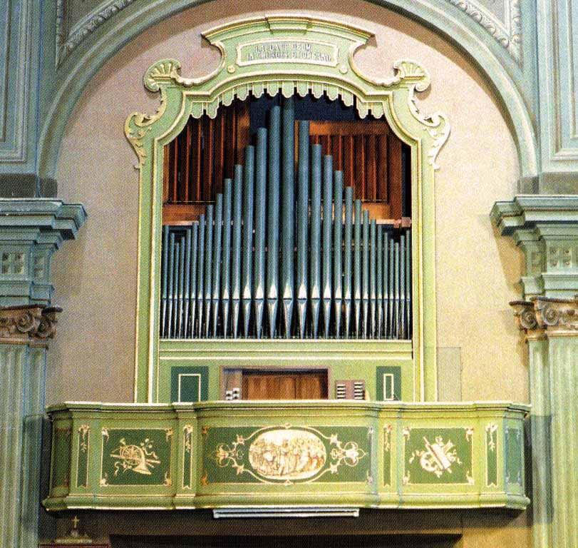L'organo della Parrocchia di Olgiate Olona (Va)
