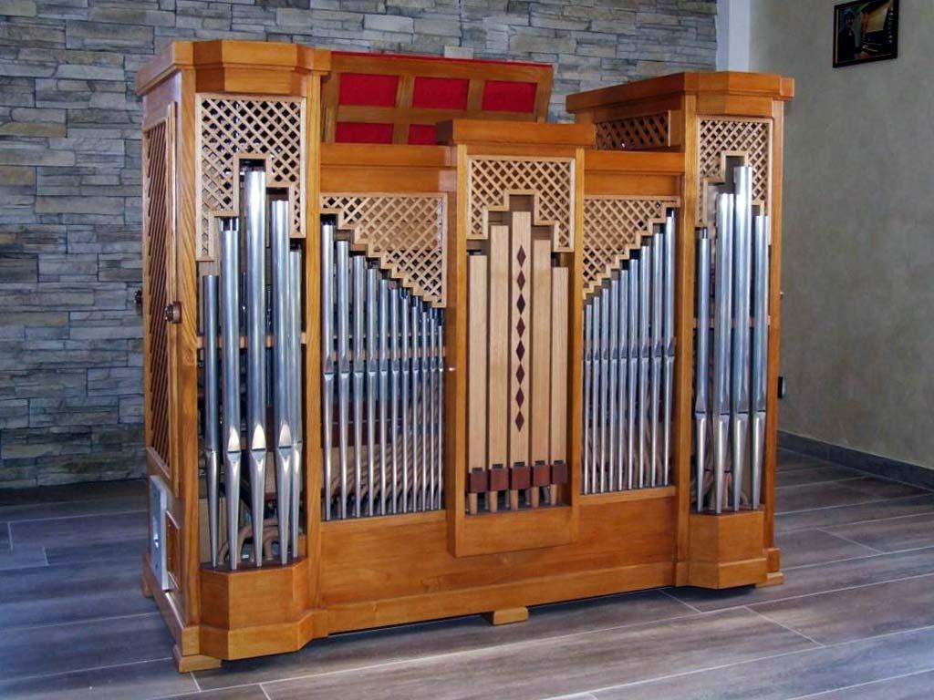 Come si presenta il nuovo organo positivo dell'organista Flavia Crotta a lavorazioni ultimate