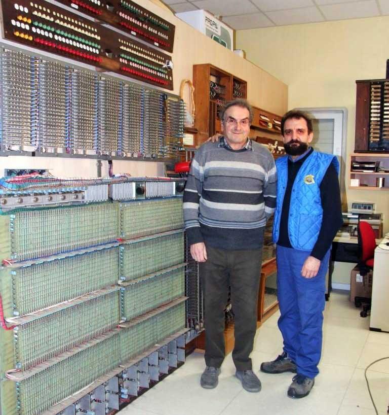 Il fondatore della SPRAE Sig. Giuseppe Rossi con Serafino Corno