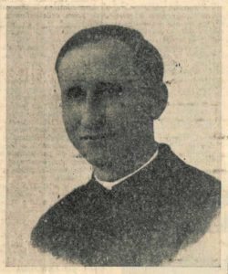 Don Carlo Bianchi in una fotografia degli anni '40.
