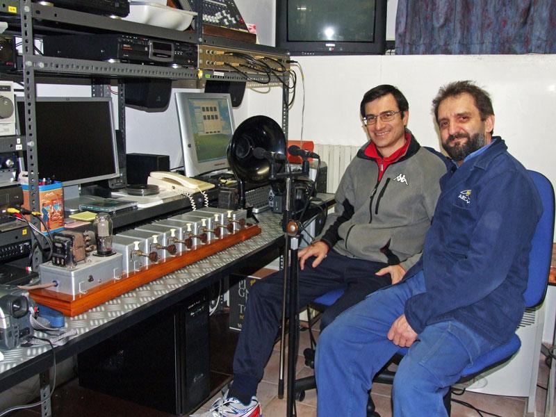 registrazioni dei suoni dell'organo elettronico Aletti