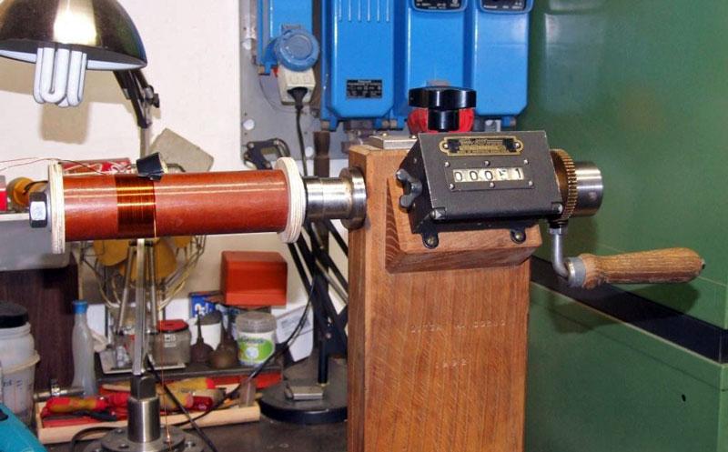 la bobinatrice manuale
