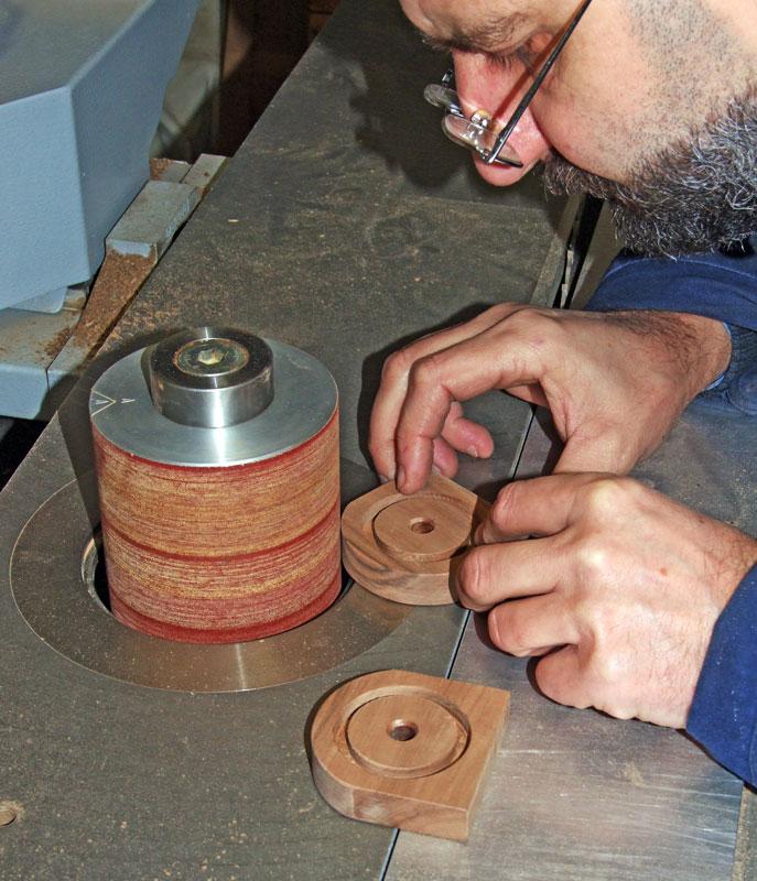 fissaggio della bobina