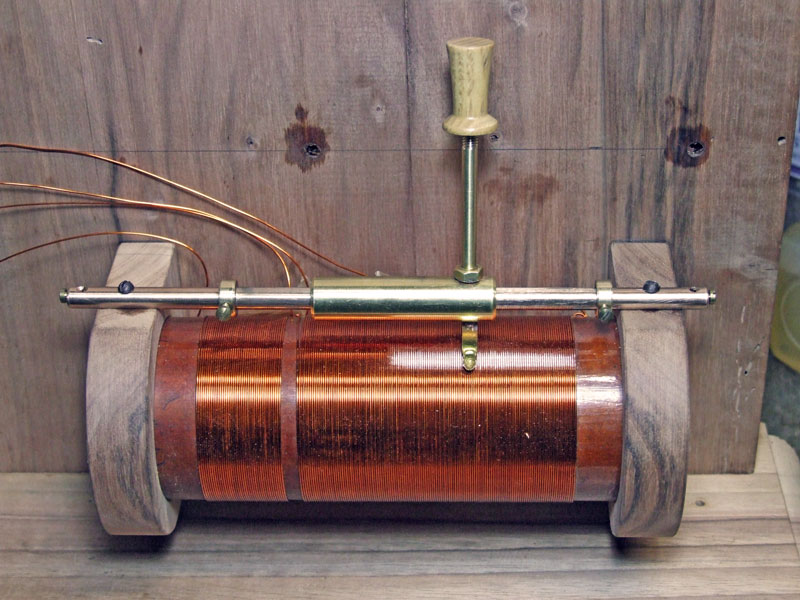 bobina montata sul basamento