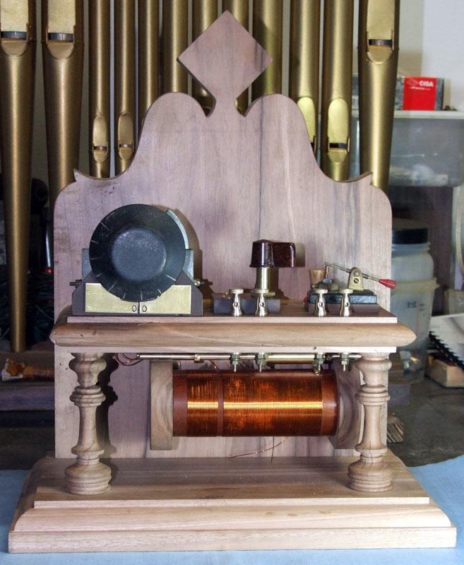 Immagine complessiva della radio a galena premontata
