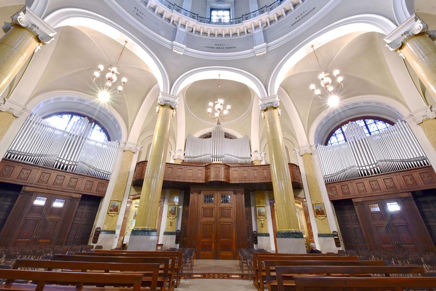 Grande Organo a canne della basilica di Seregno