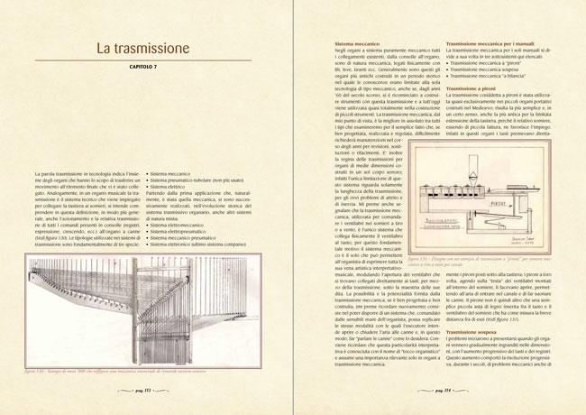 L'arte organaria - La trasmissione - capitolo 7