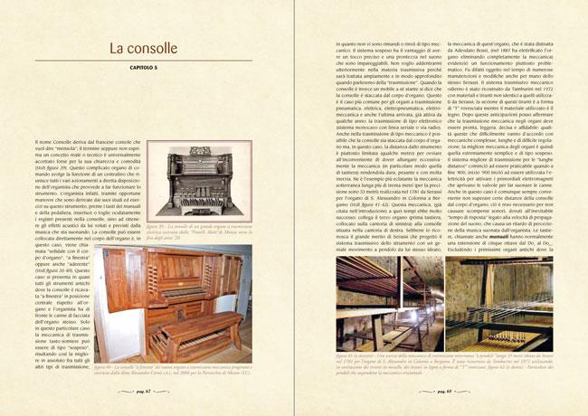 L'arte organaria - La consolle - capitolo 5